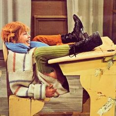 Pippi Longstocking, My Childhood Memories, Old Tv, Good Old, Childrens Books, Illustration, Movies, Painting, Inspiration
