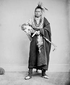 American Indians : Wah-co-ma - Sauk 1868.