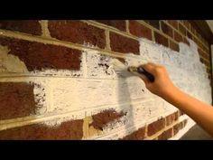 Whitewash brick how to