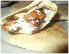 Greek Chicken Souvlaki Recipe with Tzatziki - Chicken Souvlaki Marinade, Souvlaki Recipe, Cream Recipes, My Recipes, Cooking Recipes, Tzatziki Chicken, Greek Chicken Souvlaki, Creamed Cucumbers, Salad Cream