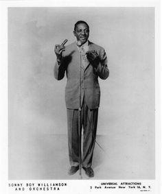 Sonny Boy Williamson publicity photo