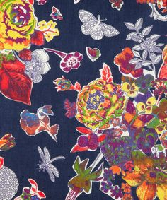 Childhood A Tana Lawn, Liberty Art Fabrics. Shop more from the Liberty Art Fabrics collection at Liberty.co.uk