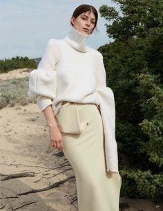"""""""Side by Side"""" Larissa Hofmann for Vogue Germany October 2015"""