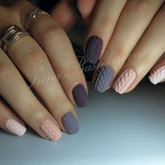Simple Nail Art Designs That You Can Do Yourself – Your Beautiful Nails Winter Nail Designs, Colorful Nail Designs, Nail Art Designs, Simple Designs, Nails Design, Gorgeous Nails, Love Nails, Pretty Nails, Fun Nails