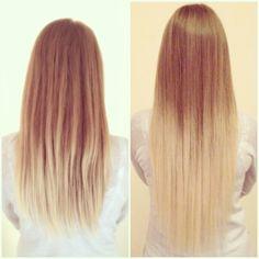 Ombré Extensions Hair Dipdye