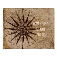 Shop vintage style quote poster compass map created by annpowellart. Custom Posters, Vintage Posters, Antique Quotes, Corner Designs, Vintage Fashion, Vintage Style, Fashion Quotes, Quote Posters, Word Art