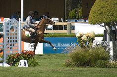 A competitor in the world-renowned Hampton Classic Horse Show held each summer in Bridgehampton, NY. Photo by Brown Harris Stevens of the Hamptons.