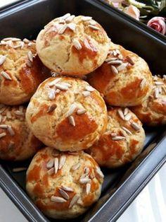 Nefis Tuzlu Kurabiye Biscuit Cookies, Energy Bites, Cookie Recipes, Yogurt, Tart, Dinner Recipes, Yummy Recipes, Food And Drink, Yummy Food
