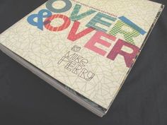 Over and Over : A Catalog of Hand-Drawn Patterns by Mike Perry (2008, Paperback)
