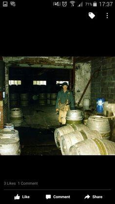 Darleys Brewery Ron the Keg man