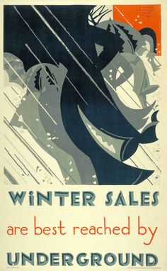 1921: 'Winter sales' | 20 Gorgeous Vintage Posters For The London Underground