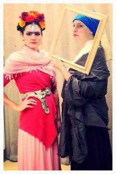 Cassie Stephens DIY Dress Like a Famous Artist/Artwork Costume Contest!  sc 1 st  Pinterest & Iu0027ve Got Your Halloween Costume | Art Ed | Pinterest | Halloween ...