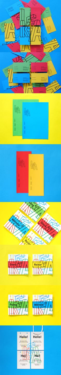 Visual identity for Ikea is a vivid delight