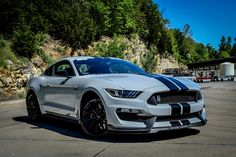 Ford Mustang GT350 in Avalanche Gray