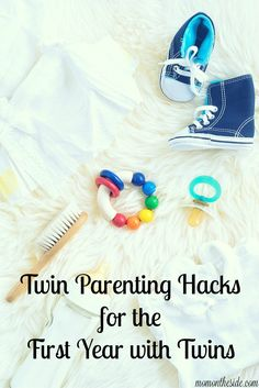 Twin Parenting Hacks for the First Year with Twins via @momontheside