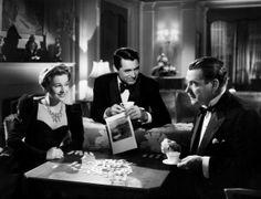 Joan Fontaine, Cary Grant, Nigel Bruce - Suspicion