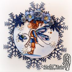 Marlenas Paper Paradise: Sylvia Zet - Mountain Lily