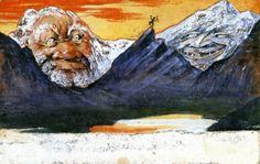 Mountain Man and Papa Santa - Emil Nolde - The Athenaeum