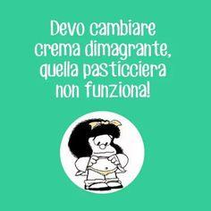 Mafalda e la crema