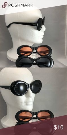 Sunglasses - Black/Rose Make you style pop with these retro-inspired sunglasses! This listing is for black frame and rose lenses. Accessories Sunglasses