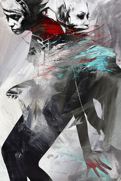 Expressive Paintings and Illustrations by Russ Mills | http://www.123inspiration.com/expressive-paintings-and-illustrations-by-russ-mills/