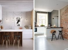 Paredes de ladrillo visto para revestir interiores | Decorar tu casa es facilisimo.com