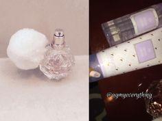 Ariana Grande Perfume, Lotion, and Hair Mist Ari Perfume, Best Perfume, Perfume Bottles, Ariana Grande Cat, Ariana Grande Perfume, Beautiful Love, Beautiful Things, Sweet Like Candy, Hair Mist