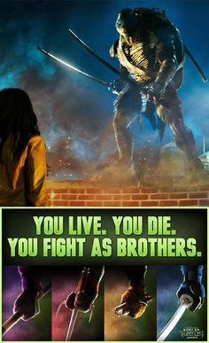 The turtles are back in action!  Can't wait for the TMNT movie! In Theaters August 8th #sp #TMNT