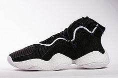 on sale 12202 cc231 Adidas Crazy BYW LVL 1 Boost Black White CQ0991