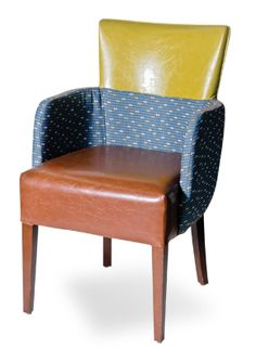 """Part of the Allo collection. Features fully upholstered seat and back only exposing the beech wood legs.    [share title=""""Share with Friends"""" socials=""""facebook, twitter, google, pinterest, bookmark"""" class="""""""" icon_type="""""""" ]"""