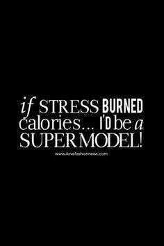 Uh stress? Wat is dat ;-)