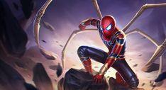 Spider-Man by xinlei zhao. Marvel Comics, Avengers Superheroes, Marvel Vs, Marvel Heroes, Storm Marvel, Black Spiderman, Spiderman Art, Amazing Spiderman, Best Marvel Characters