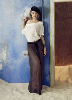 Falda larga Hoss Intropia