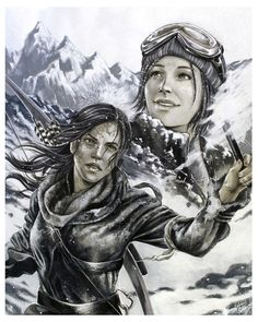 Rise Of the Tomb Raider - Discover by Hollow-Moon-Art.deviantart.com on @DeviantArt