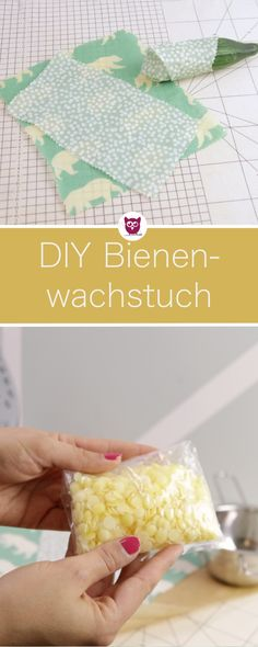 Make DIY beeswax cloth remnants yourself. Super sustainability DIY for .- Make DIY beeswax cloth remnants yourself. Super Sustainability DIY on Zero Waste because you can use it to avoid cling film.Video tutorial by DIY Eule. Diy Jewelry Unique, Diy Jewelry To Sell, Diy Jewelry Holder, Diy Jewelry Tutorials, Diy Jewelry Making, Glasses For Your Face Shape, Diy Jewelry Inspiration, Zero Waste, Handmade Crafts