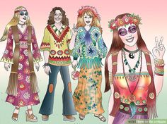 How to Be a Hippie (with Pictures) - wikiHow
