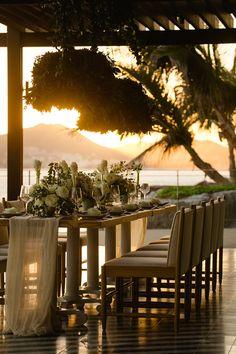 Beautiful destination wedding inspiration in Cabo San Lucas, Mexico at The Cape, a Thompson Hotel. Photo by Chris Plus Lynn Photographers www.chrispluslynn.com and Floral Design by Elena Damy www.elenadamy.com