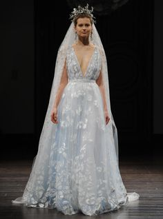 Naeem Khan vestido de novia colección Primavera - Verano 2016.