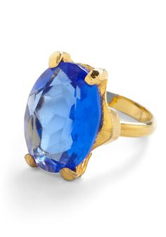 4. Something Blue  A vintage ring for the bride. #modcloth #wedding