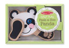 Amazon.com: Melissa & Doug Peek-a-Boo Panda: Toys & Games