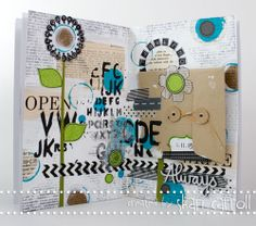 I'm really excited to embark on a NEW monthly feature in 2013 with the amazingly talented, Shari Carroll! Art Journaling has been something that has really increased in popularity lately, and we thought it would be so much fun to get monthly inspiration on different ways to get started if you find yourself in an artistic slump!