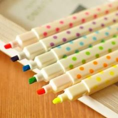 Dotted Highlighter Pen from #YesStyle <3 Na Na YesStyle.com