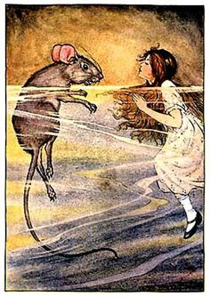 Milo Winter - Alice In Wonderland - 1916