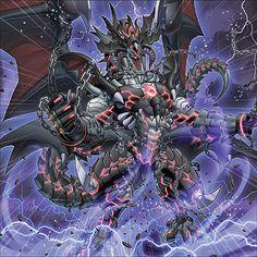 Darkest Diabolos, Lord of the Lair by Yugi-Master Fantasy Monster, Monster Art, Mythical Creatures Art, Fantasy Creatures, Fantasy Dragon, Fantasy Art, Yugioh Dragons, Mythical Dragons, Yugioh Monsters