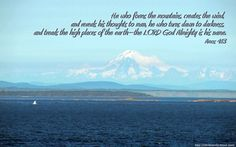 Download Free Christian Wallpaper With Bible Verses: High Places (Widescreen)