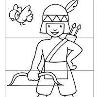 peter pan indian princess coloring pages | Dibuixos d'indis per pintar | Oest americà | Pinterest