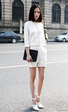 Hul-lo. white for spring.