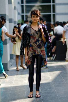 Natasha Ramachandran--India street style