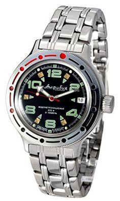 Vostok Amphibian Military Russian Diver Watch 2416 / 420334 Vostok Chistopol
