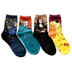 Classic Art Ankle Socks